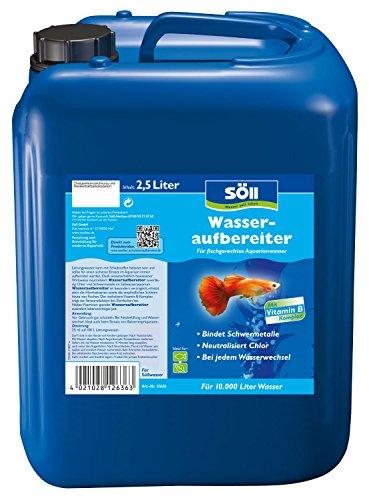 Söll Wasseraufbereiter 2,5 L Prodotto per la Cura dell'acquario, Blu, für 10.000 Liter